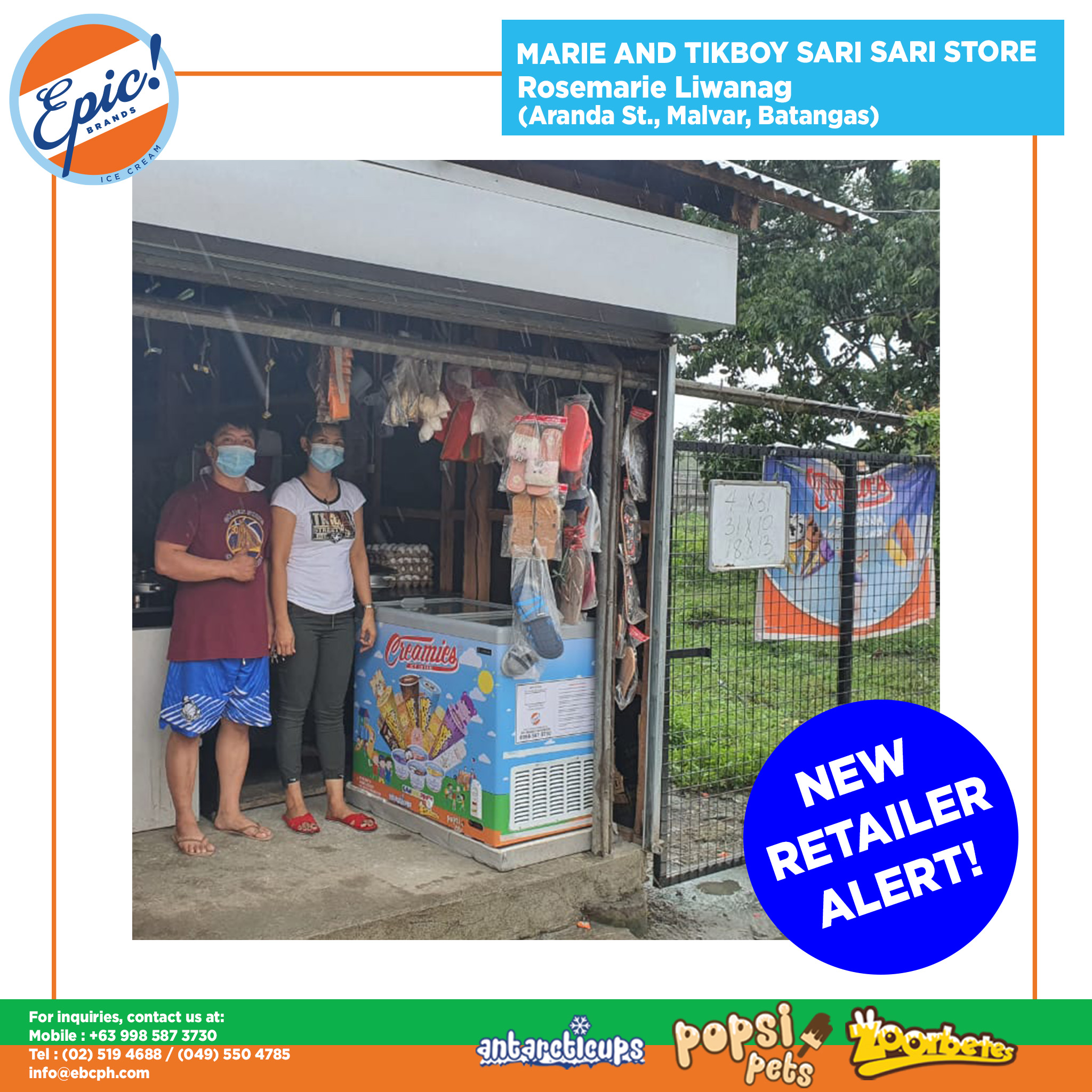 Marie and Tikboy Sari Sari Store